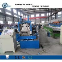 China Steel Profile Sizes Stud And Track Roll Forming Machine With Changeable Cutting Blades wholesale