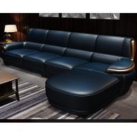 China Luxury Leather Sectional Couch High End Furniture Sofa For Living Room wholesale