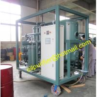 China PLC Lubricant Oil Water Separation Equipment ,Lubricant Oil Purification Machine, Vacuum Drying dehydration lube oil wholesale