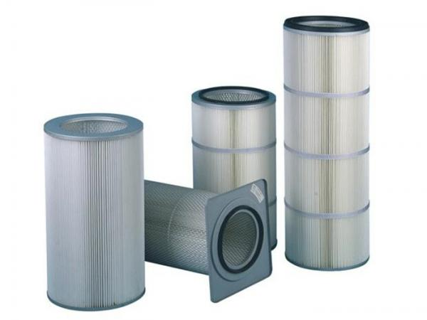 Quality Industrial Dust Collector Filter / 20 Micron Filter Cartridge ISO Standard for sale
