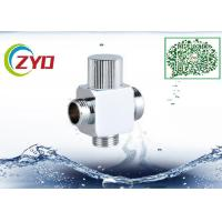China 1/2MX3/4MX3/4M Brass Chrome Plated Three Way  Square t Shower System Faucet Water Diverter Shower Hose Seperator on sale