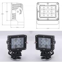Buy cheap 60W Square Vehicle LED High Power Driving Lights , 6500K 4800 Lumen 12 Volt Led Work Lights from wholesalers