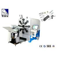 China 8mm 16 Axes Cam - Less CNC Control Spring Bending Machine With High - Efficiency wholesale