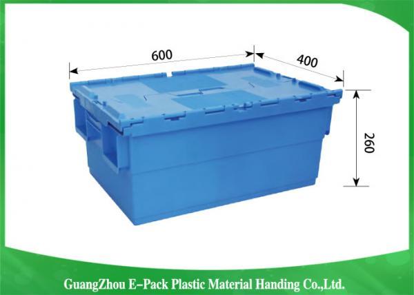 Quality Stardard Blue Grandes contenedores de almacenamiento de plástico, Almacenamiento de almacenamiento de plástico Space Storage for sale