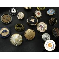 China Decorative metal Whoelsae shank snap button for jeans, jeans accessories cover tack manufacturer snap button wholesale