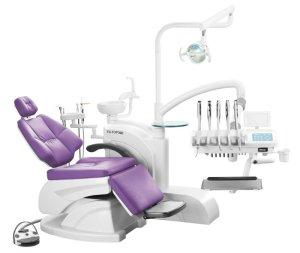 Quality Dental Chair with Real Leather with CE for sale
