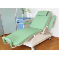 Buy cheap Green Mobile Blood Donor Chair ,  Electric Blood Drawing Chair from wholesalers