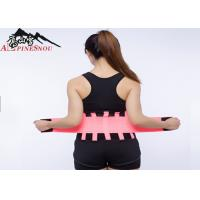 China Curves Trimming Waist Support Brace Breathable Neoprene For Men / Woman wholesale