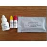 Infectious Mononucleosis Test / Heterophile Antibody Test cassette