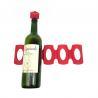 China Perfect Fridge Storage Small Wine Rack , 306*95mm Silicone Wine Bottle Holder wholesale