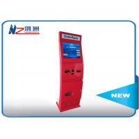 China Free standing intelligent kiosk with camare ticket vending dispenser wholesale