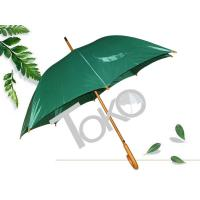 China 48 Inches Wooden Handle Umbrella Walking CaneMetal Frame With Flute Ribs wholesale