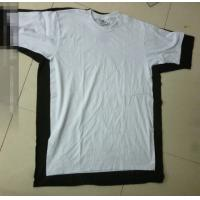China 50,000 pieces cheap solid color short sleeve plus size Men