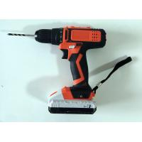 China Performance Motor Hand Held Power Tools , LED Power Indicator Wireless Power Drill on sale