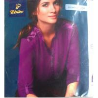 China Good quality women apparel stock lots Plus size ladies Modal stretch casual business shirt wholesale