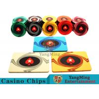 3.3mm Thickness 12 - 32g Casino Poker Chips / Customized Ceramic Chip for sale