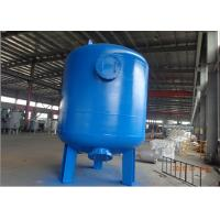 China Multi media filter by CS carbon steel pressure tank with rubber liner 72 TPH wholesale