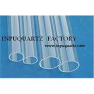 China Clear fused quartz tube on sale
