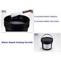 Plastics Substrate Coating Water Based Varnish Increase Plastics Adhesive