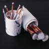 China Makeup Brush Collection Set, New 10 Pcs Makeup Brush Set, Marble Cosmetic Brush wholesale
