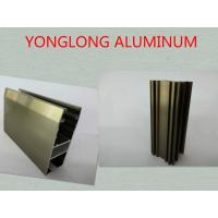 China Oxidizing Champagne Anodized Aluminum Profiles For Decoration / Industrial on sale
