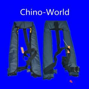 China UML/ HR/ domestic device Inflatable life jacket/safeguard jacket wholesale