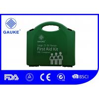 Wound Care Portable First Aid Box , Large 50 Person First Aid Kit For Household