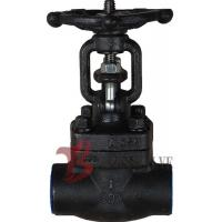 China Metellic Seat Forged Steel Valves , Forged Carbon Steel Gate Valve on sale