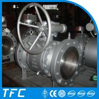 China trunnion mounted 3pc forged steel ball valve wholesale