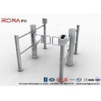 Quality Double Core Biometric Pedestrian Security Gates Stainless Steel With Access for sale