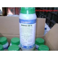 Metribuzin 480g/l SC/Off-white flowable liquid/1L bottle/lable stick