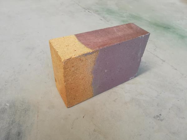 Quality Light Weight Fused Cast AZS Refractory Fire Bricks Good Abrasion Resistance for sale