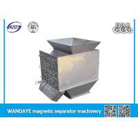China 5 Layer Double Drum Magnetic Separator Electrostatic Separator 12000GS 25MM on sale
