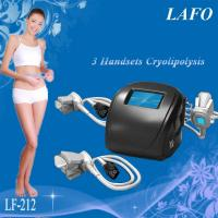 Buy cheap HOTTEST!!! 3 handles Portable Cryolipolysis Vacuum Slimming Machine from wholesalers