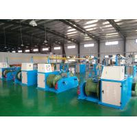 China Industrial Cable Production Equipment , Wire Extrusion Line 26x3.4x2.8m Size wholesale