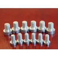 China Cold Forming Titanium Slotted Head Screw For Chemical Industry , Military wholesale
