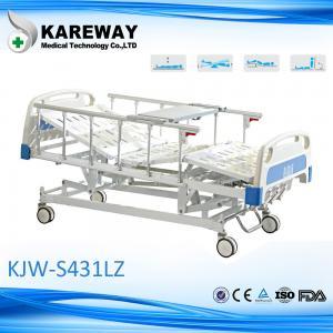 China Four Cranks Central Brake Castors Clinitron Hospital Bed , Adjustable Hospital Beds For Home wholesale