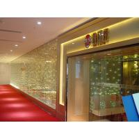 China Kaho special led flashing glass curtain on sale