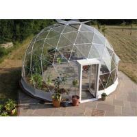 China Advertising Clear Canvas Dome Tent Rainproof  20m Easy Clean 75kg / Sqm Snow Proof wholesale