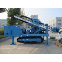 China High Impact Frequency Anchor Drilling Rig Hydraulic System High Power Virbration Foundation wholesale