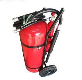 Buy cheap 30 extincteur du kilogramme DCP, poudre enduisant les unités rouges de chariot à from wholesalers