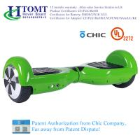 China Self Balance Scooter Hoverboard 2 Wheel Hoverboard Ul2272 Black Red with Chic License wholesale