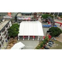 China Unique Aluminum And PVC Sports Shelter Tent 850g/Sqm Roof Cover wholesale