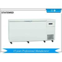 China Chest Type Horizontal Laboratory Deep Freezer Ultra Low Temperature 480L With Sound Alarm Function wholesale