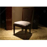 China Highly Endurable Restaurant Hotel Room Chairs Solid Wood Simple Style Customized wholesale