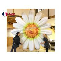 China marguerite gonflable de loyer de 5m, articles promotionnels gonflables dans l'exposition promotionnelle wholesale