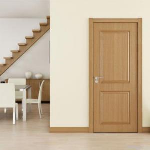 China Yellow Oak Veneers Wood  Door wholesale
