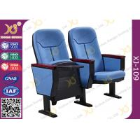 Gravity Wear - Resistant Fabric Church Auditorium Chairs With Writing Pad