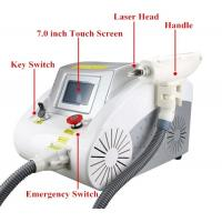 China 40 - 1200MJ Q Switch Laser Tattoo Removal Machine Portable For Pigment Removal wholesale