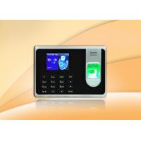 China Fingerprint access control with Li - Battery / self - service report and desktop mount for optional wholesale